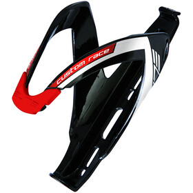Elite Custom Race Uchwyt na bidon, black/glossy red